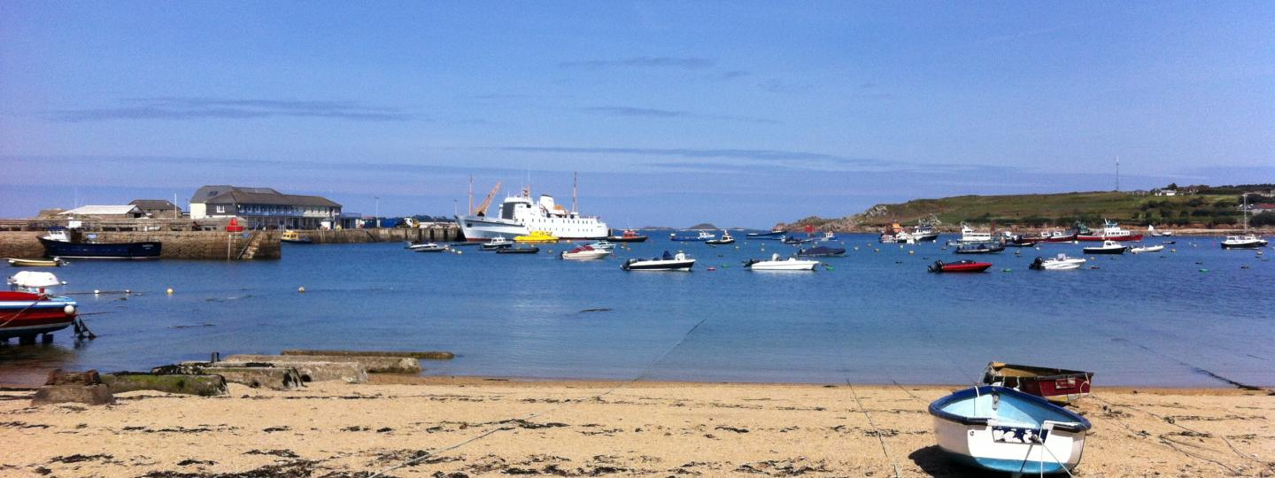View of St Marys harbour
